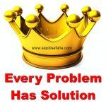 समस्या है तो समाधान भी है | Motivational Story In Hindi