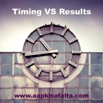 time and result