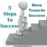सफलता तक पहुंचने के 5 कदम | Steps To Success