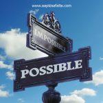 असंभव को संभव बनाने वाले 5 नियम | Nothing Is Impossible