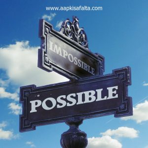nothing is impossible anything everything possible hindi