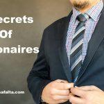 करोड़पति लोगों के 3 सीक्रेट Secrets Of Millionaires