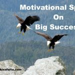 speech on big success