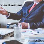 इंटरव्यू में पूछे जाने वाले 10 प्रश्न Interview Questions And Answers