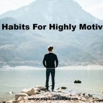 daily habits for highly motivation hindi