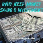 why need money saving investment hindi
